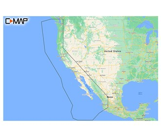c map m na y206 ms reveal west coast and baja california coastal chart