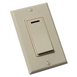 """Product # FV-WCSW11-A <br /> <ul>   <li><span class=""""blackbold"""">One Function On/Off Control Switch</span></li>   <li>Pilot Light</li>   <li>Stylish Decorator Design</li>   <li>Fits Single-Gang Box</li>   <li>Commercial Grade</li>   <li>LED Indicator Light</li>     <li>Includes Matching Wall Plate</li> </ul>"""