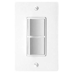 """Product # FV-WCSW21-W <br /> <ul>   <li><span class=""""blackbold"""">2 Function On/Off Switch</span></li>   <li>Control DC Motored Fans</li>    <li>Fits Single Gang Box</li>   <li>Commercial Grade</li>   <li>LED Lighting</li>   <li>Includes Matching Wall Plate</li> </ul>"""