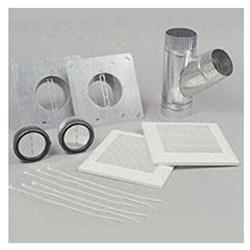 """Product # PC-NLF04D <br /> <ul>   <li><span class=""""blackbold"""">Installation Kit</span></li>   <li><span class=""""bluebold"""">4'' Dual Inlet Grille</span></li>   <li>2 Intake Grilles</li>   <li>120 Cu ft. per Min Per Watt</li>   <li>Two 4"""" Recoil Shocks</li> </ul>"""