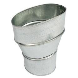 """Product # FV-VS43R <br /> <ul>   <li><span class=""""blackbold"""">Duct Adapter</span></li>   <li>Ideal For WhisperValue DC Fan &amp; Fan/Light</li>   <li><span class=""""bluebold"""">4"""" Oval to 3"""" Round</span></li>   <li>24 Gauge Steel</li>   <li>Easy To Install</li> </ul>"""