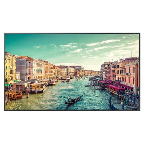 samsung qm t series 98 inch  4k uhd signage display