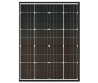 xantrex 100w solar panel with mounting hardware