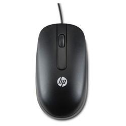 "<span class=""replaces"">Replaces Model GW405AT</span><br /> <ul> <li><span class=""blackbold"">USB Laser Mouse</span></li> <li>Contoured Design</li> <li><span class=""redbold"">Laser Sensing Technology</span></li> <li>Three Customizable Buttons</li> <li>Soft-Touch Black Finish</li> <li><span class=""bluebold"">Resolution: 1000 dpi</span></li> <li>Clickable Scroll Wheel</li> </ul>  <br/> <span class=""blackbold"">What's in the box:</span> <ul> <li>HP USB Laser Mouse</li> <li>Documentation</li> </ul>"