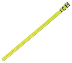 "<ul> <li><span class=""blackbold"">1"" Collar Strap</span> <li>Fits Neck Sizes 8"" – 27"" <li>44-Hole Correct-Fit <li>Metal Rollerbuckle for Easy Fastening <li>Metal D-Ring for Fast Leash Attaching <li>Metal Strap Keeper for Safety  <li>Waterproof &amp; Rustproof  </ul>"