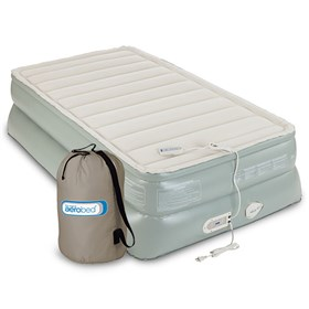 AeroBed Premier Double High Airbed Twin Size 20 Inch