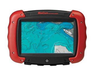 marcum rt 9 touchscreen gps tablet