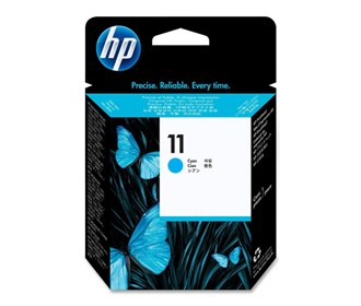 hp 11 cyan printhead c4811am