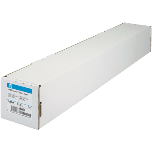 hp universal coated paper 24in x 150ft
