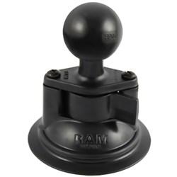 "Product # RAM-224U <ul> <li><span class=""blackbold"">Diamond Base Ball Mount</span></li> <li>Powder Coated Aluminum Material</li> <li>1.5"" Rubber Ball Size</li> <li>3.3"" Diameter Twist Lock Suction Cup</li> <li>Extra Strong Hold on Any Smooth &amp; Non-Porous Surface</li> </ul>"