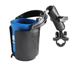 ram mount drink cup holder with u bolt base ram b 132ru