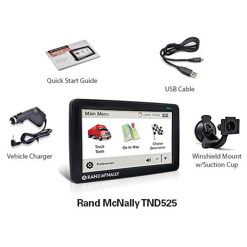 rand mcnally tnd525