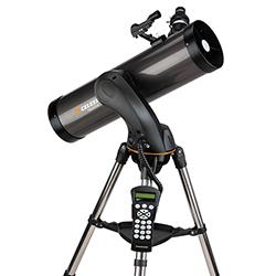 """<ul> <li><span class=""""redbold"""">5.1 Inch Aperture (130mm)</span></li> <li>Computerized With 4,000 Accessible Objects</li> <li><span class=""""bluebold"""">307x Maximum Magnification</span></li> <li>Focal Length: 650mm, f/5.0 Focal Ratio</li> <li><span class=""""blackbold"""">StarPointer Finderscope</span></li> <li>Steel Tripod</li> <li><span class=""""greenbold"""">Motorized Altazimuth Mount</span></li> <li>Sku: 31145</li> </ul>"""