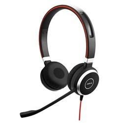 "Product# 6399-823-109   <ul> <li><span class=""blackbold"">Stereo</span> Headset Made For Voice &amp; Music</li> <li>Optimized for <span class=""redbold"">MS Lync</span> w/ Built-In 3.5mm Jack &amp; USB Adapter</li> <li>Passive Noise Canceling Speakers w/<span class=""bluebold""> Leatherette Cushions</span></li> <li>Noise Canceling Microphone</li> <li>In-Line Call Controls w/ Mute</li> <li>Jabra Xpress Compatible</li> <li><span class=""redbold"">Integrated Busy Light</span></li> <li><span class=""bluebold"">Discrete Boom Arm</span></li> <li>Connects to PC, Mobile &amp; Tablet via USB or 3.5mm Jack</li> </ul>"