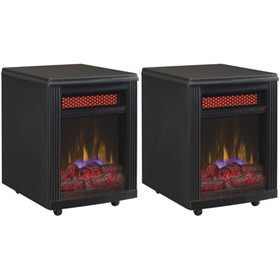 duraflame 10if9239blk 2 pack