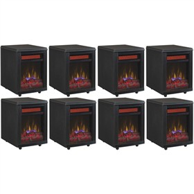 duraflame 10if9239blk 8 pack