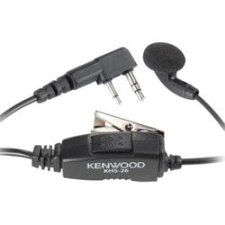 <ul>     <li><span class="blackbold">D-Ring Earphone</span></li>     <li>Boom-Style Microphone</li>     <li>Inline Clip</li>     <li>VOX Capable</li>     <li><span class="bluebold">Push-to-Talk (PTT) Microphone</span></li>    </ul>