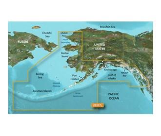 garmin bluechart g3 vision VUS517L alaska south
