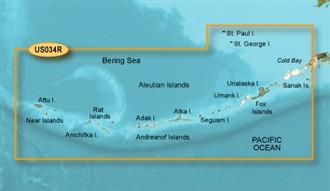 Bluechart g2 vision VUS034R Aleutian Islands