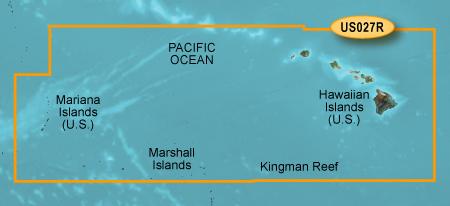 Bluechart g2 vision VUS027R Hawaiian Is Mariana Is