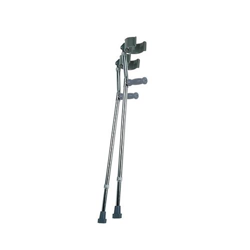 lumex dulexe forearm crutches medium