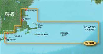 Bluechart g2 vision VUS003R Cape Cod