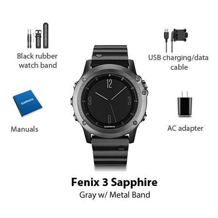 garmin fenix3 sapphire