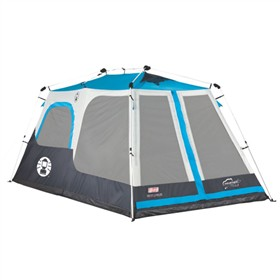 coleman cable tent instant cabin 8 double hub