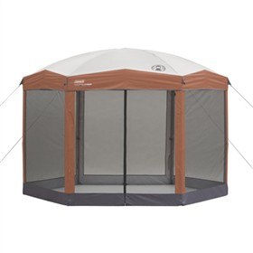 colema shelter 12x10 back home screened