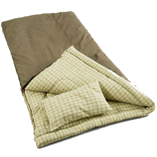 coleman sleeping bag big games