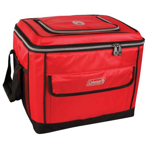 coleman soft cooler red 40
