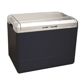 coleman cooler 40qt te with pwr cd cold