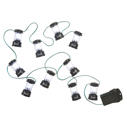 coleman led string lights