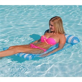 airhead ahds floating hammock series aqua