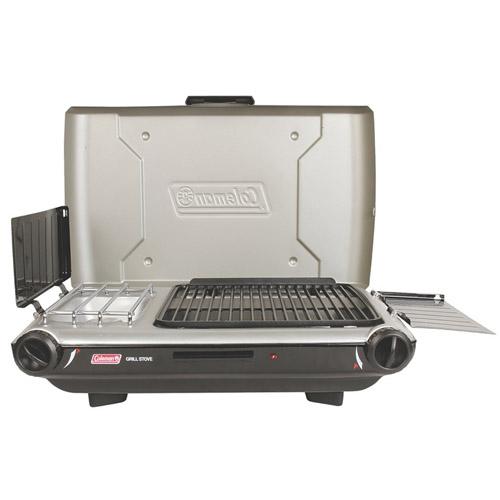 coleman propane grill stove