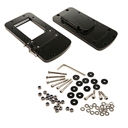 Product # 8M0092064 <ul> <li>Quick Release Bracket</li> <li>Low Profile Design</li> <li>Full Cast Aluminum Base</li> <li>Stainless Steel Hardware</li> <li>Positive Locking Mechanism</li> </ul>