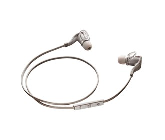 plantronics backbeat go 2 white with case