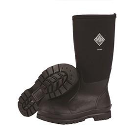 the muck boot company mens chore boot high cut black