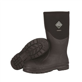 muck boots mens chore hi steel toe black