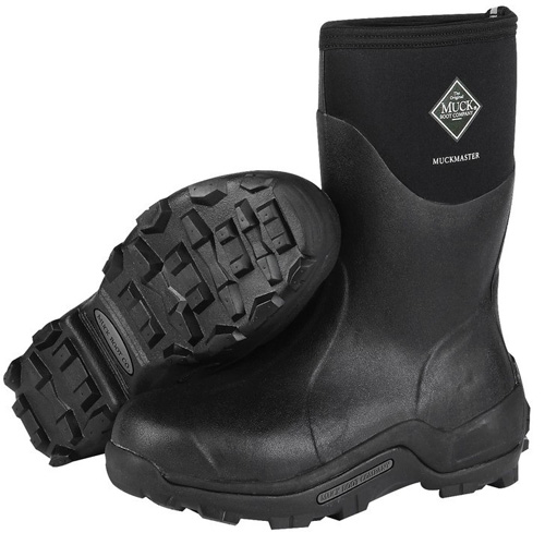 the muck boot company unisex muckmaster mid black