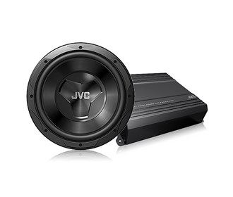 jvc special drvn amplifier subwoofer bundle