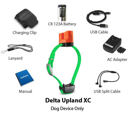 garmin delta upland xc device only