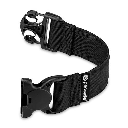 pacsafe strap extender 3.8x25cm black