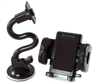 universal windshield mount with adjustable goose neck for magellan