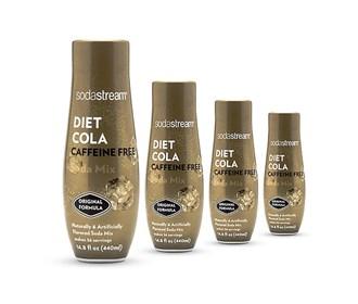 sodastream cola caffeine free sodamix 4 pack