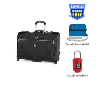 platinum magna 2 Carry on Rolling Garment Bag