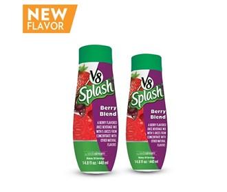 sodastream v8 splash berry blend sodamix