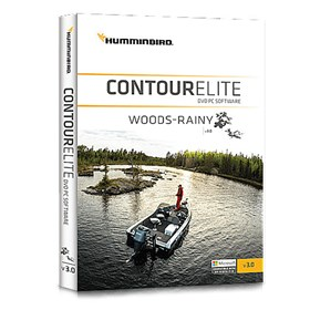 humminbird contour elite woods rainy