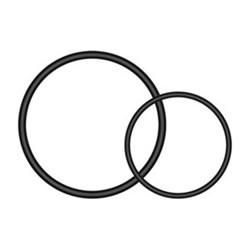 """Product # 010-10644-13 <ul> <li><span class=""""blackbold""""> Mount O-rings</span></li> <li>Attaches Radar or Bike Tail Light</li> <li>For Universal Seat-post Quarter Turn Mount</li> </ul>"""