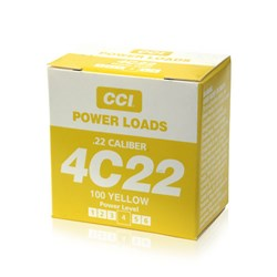 "Item # 88117 <ul> <li><span class=""blackbold"">CCI .22 Blank Power Loads - Yellow</span></li> <li>For Use w/ Remote and hand held Super Pro Dummy Launchers</li> <li>70 to 100 Yards Down Range</li> </ul>"
